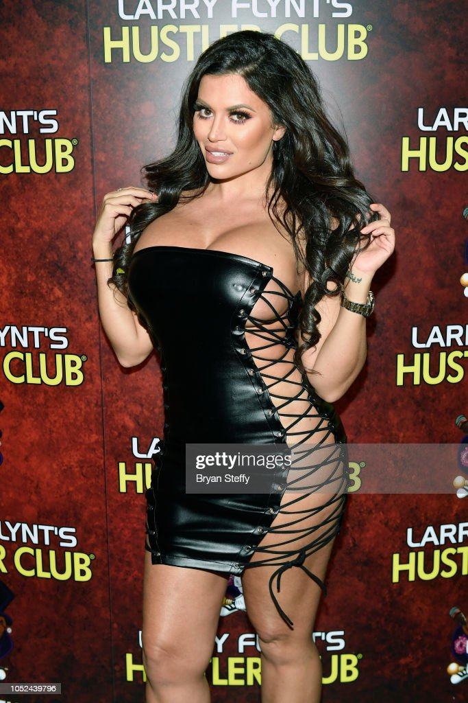 Hustler Las Vegas Celebrates National Ass Day Hosted By Toochie Cash And Carmen Ortega : News Photo