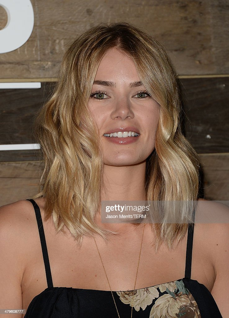 Model Tori Praver attends the H&M Conscious Collection dinner at Eveleigh on March 19, 2014 in West Hollywood, California.