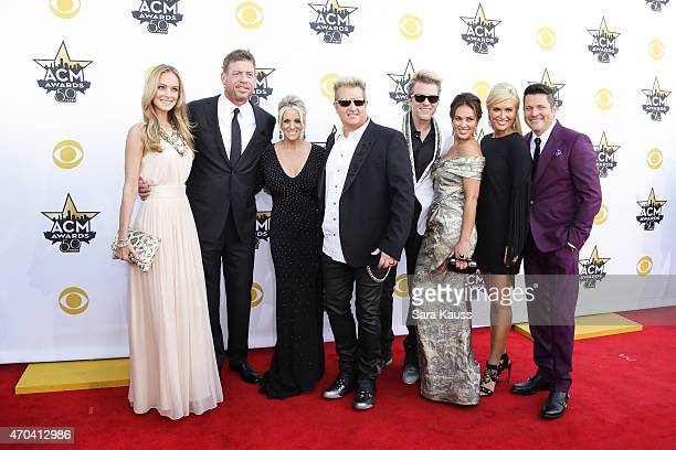 Model Tracy Ripsin, TV personality/retired NFL player Troy Aikman, Tara LeVox, recording artists Gary LeVox and Joe Don Rooney of music group Rascal...