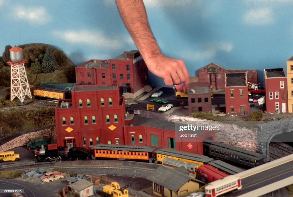 model train enthusiast