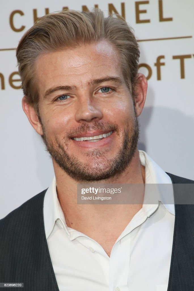 Model Trevor Donovan attends the Hallmark Channel and Hallmark Movies and Mysteries 2017 Summer TCA Tour on July 27, 2017 in Beverly Hills, California.