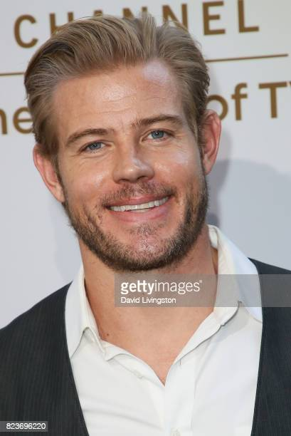 Model Trevor Donovan attends the Hallmark Channel and Hallmark Movies and Mysteries 2017 Summer TCA Tour on July 27 2017 in Beverly Hills California