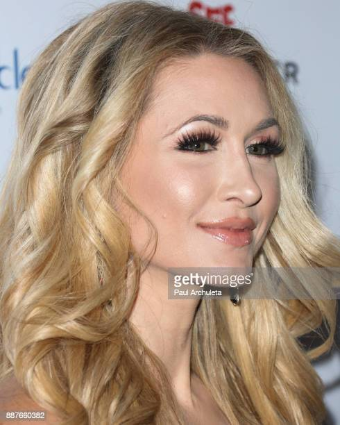 Model / TV Personality Andrea Lowell attends the 10th annual Babes In Toyland charity toy drive at Avalon on December 6 2017 in Hollywood California