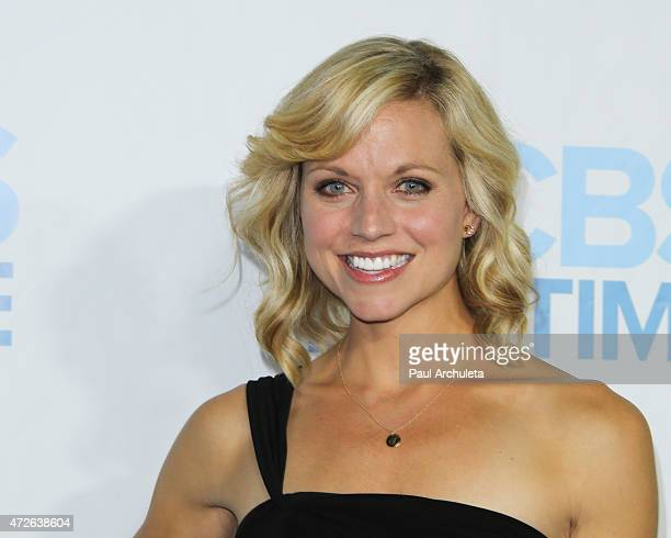 Model / TV Personality Tiffany Coyne attends the CBS Daytime Emmy after party at The Hollywood Athletic Club on April 26 2015 in Hollywood California