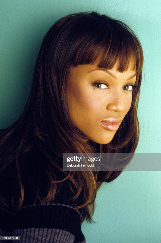 Model Tyra Banks poses for a portrait in 1997 in New York City, New York.
