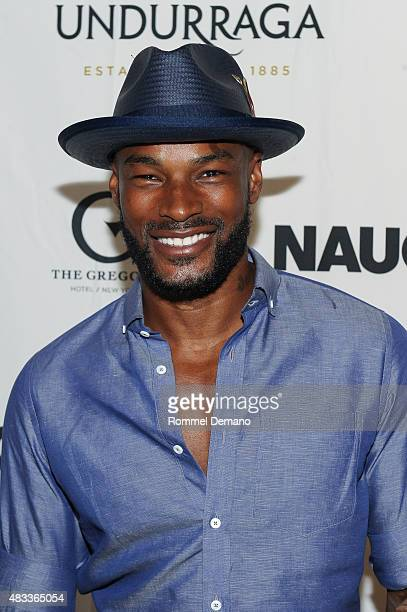 Model Tyson Beckford attends 'Crazy Hot Party' Hosted by Tyson Beckford at The Gregory Hotel on August 7 2015 in New York City