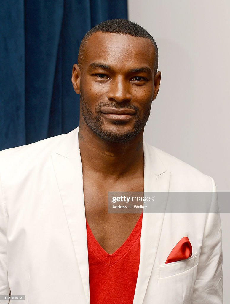 Model Tyson Beckford attends Moet Rose Lounge Presents Nas' Life Is Good at Bagatelle on July 16, 2012 in New York City.