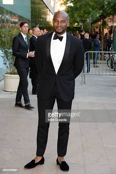 Model Tyson Beckford attends the 2014 CFDA fashion awards at Alice Tully Hall Lincoln Center on June 2 2014 in New York City