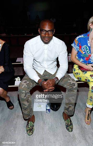 Model Tyson Beckford attends the Tome fashion show during Mercedes-Benz Fashion Week Spring 2015 at The Pavilion at Lincoln Center on September 4,...