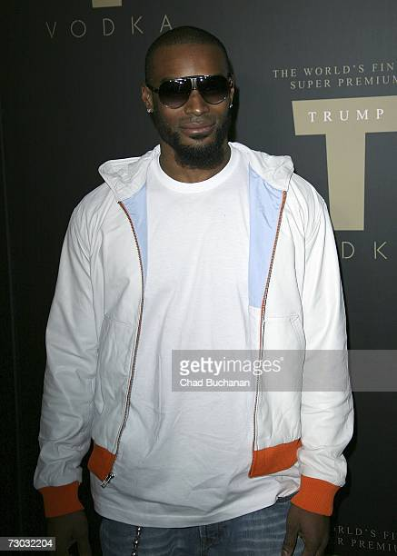 Model Tyson Beckford attends Trump Vodka launch party at Les Deux on January 17, 2007 in Los Angeles, California.