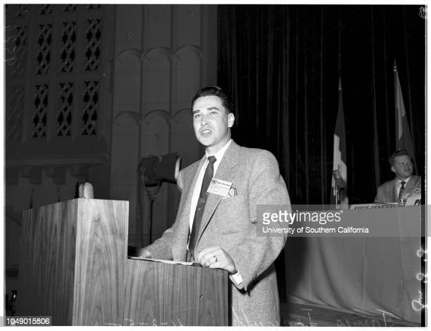 Model United Nations at University of Southern California 03 April 1952 Sister Mary LouiseSister MarienTerry KellyVir SondhiShared ShethMohamed...