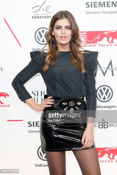 Model Vanessa Fuchs attends the New Faces Award Style 2017 at The Grand on November 15 2017 in Berlin Germany