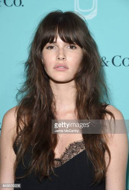 Model Vanessa Moody attends the Tiffany Co Fragrance launch event on September 6 2017 in New York City