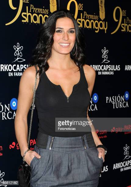 Model Veronica Hidalgo attends 'Shangay Awards 2009' at Pacha Club on November 30 2009 in Madrid Spain