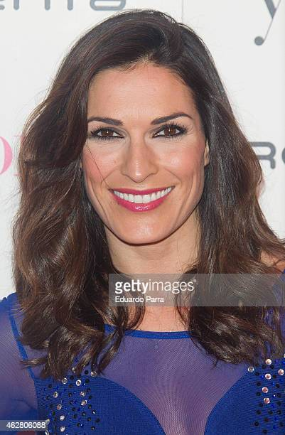Model Veronica Hidalgo attends 'Yo Dona' party photocall at Shoko disco on February 5 2015 in Madrid Spain