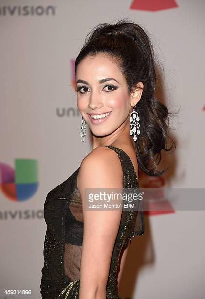 Model Veronica Montano attends the 15th Annual Latin GRAMMY Awards at the MGM Grand Garden Arena on November 20 2014 in Las Vegas Nevada