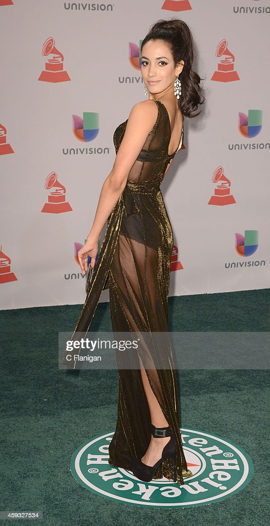 Model Veronica Montano attends the 15th Annual Latin GRAMMY Awards at the MGM Grand Garden Arena on November 20, 2014 in Las Vegas, Nevada.