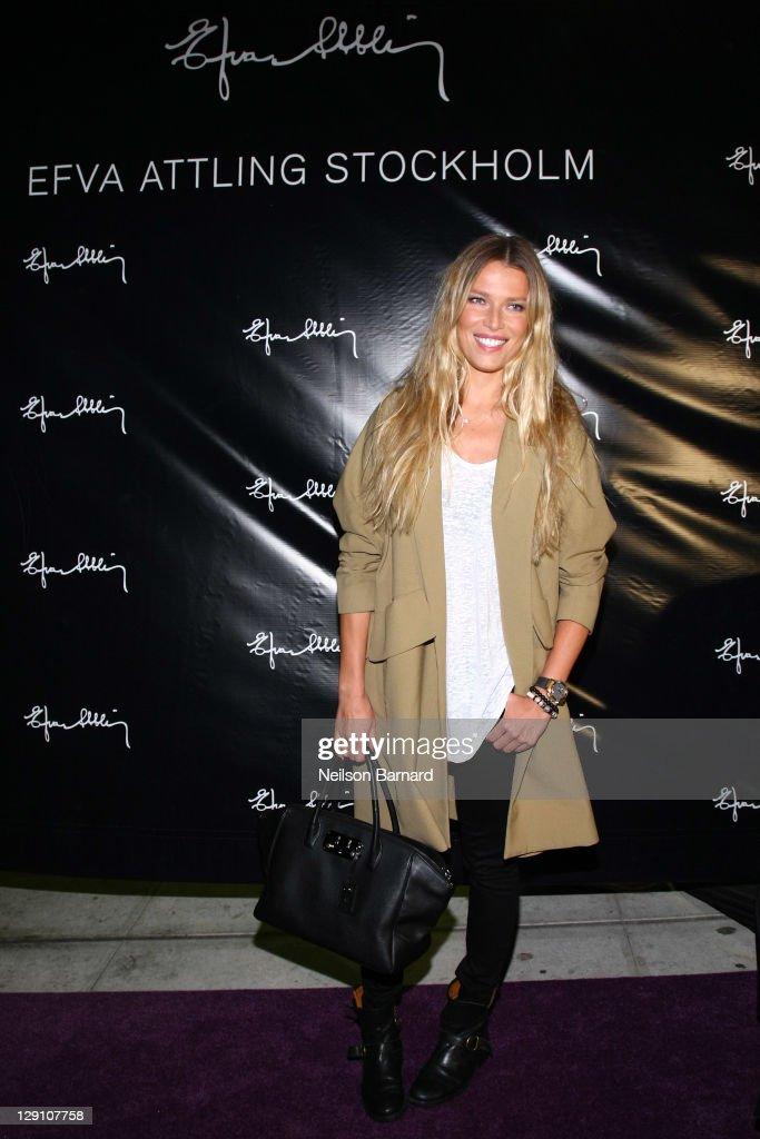 Efva Attling Launch Party, Swedish Jewelry Designer Opens In The U.S.