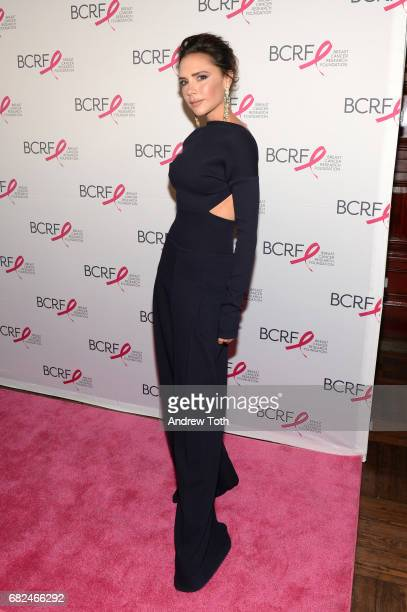 Model Victoria Beckham attends the 2017 Breast Cancer Research Foundation Hot Pink Party at Park Avenue Armory on May 12, 2017 in New York City.
