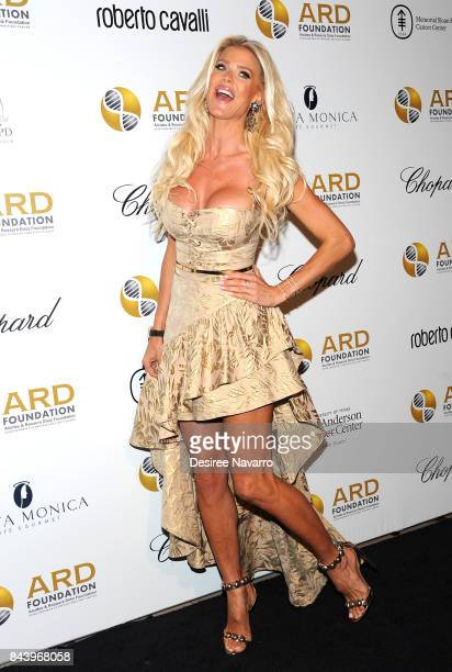 Model Victoria Silvstedt attends 2017 ARD Foundation 'A Brazilian Night' at Cipriani 42nd Street on September 7 2017 in New York City
