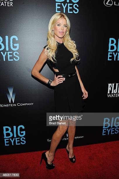 """Model Victoria Silvstedt attends the """"Big Eyes"""" New York Premiere at Museum of Modern Art on December 15, 2014 in New York City."""