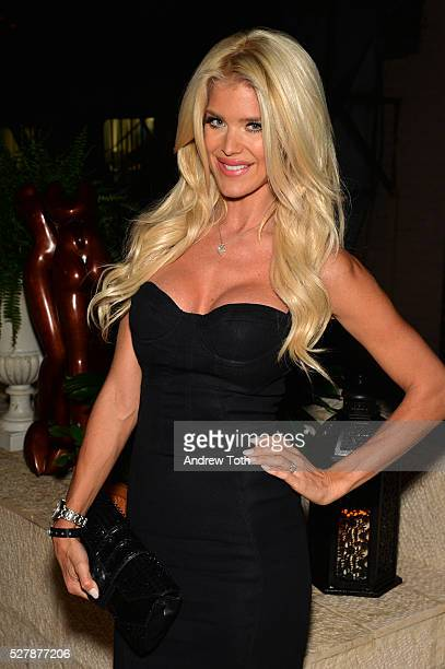 Model Victoria Silvstedt attends the grand opening of the Domenico Vacca flagship store on May 3 2016 in New York City