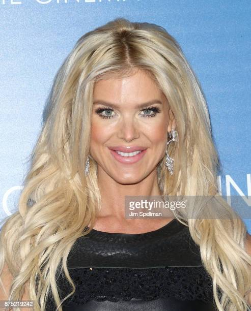 Model Victoria Silvstedt attends the screening of Sony Pictures Classics' 'Call Me By Your Name' hosted by Calvin Klein and The Cinema Society at...