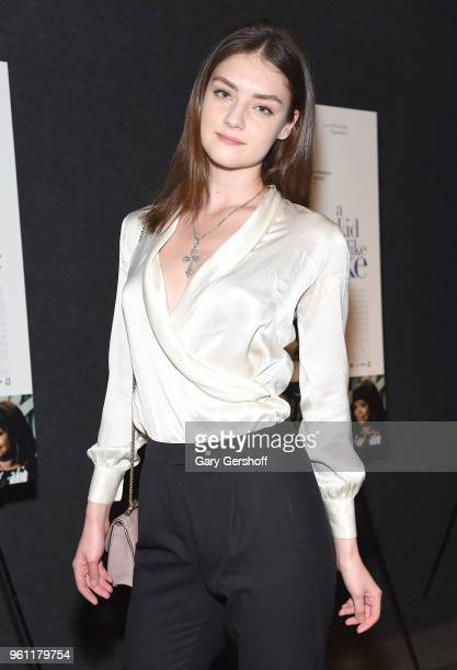 Model Vika Levina attends 'A Kid Like Jake' New York premiere at The Landmark at 57 West on May 21 2018 in New York City