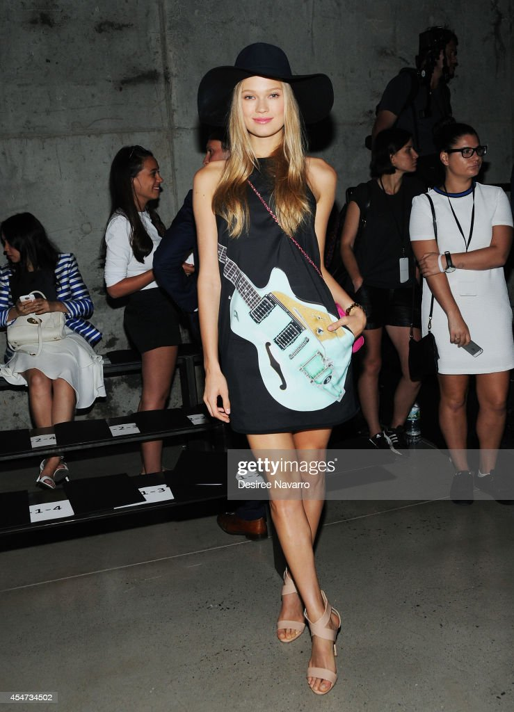 Sally Lapointe - Front Row & Backstage - Mercedes-Benz Fashion Week Spring 2015