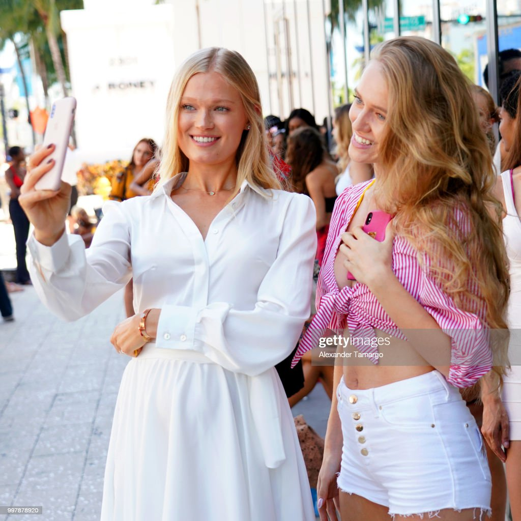 2018 Sports Illustrated Swimsuit at PARAISO During Miami Swim Week, W South Beach - Model Casting Call Day 1 : News Photo