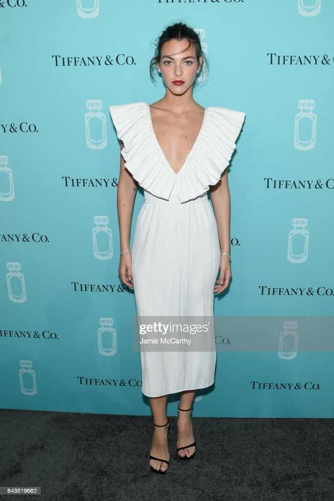 Model Vittoria Ceretti attends the Tiffany & Co. Fragrance launch event on September 6, 2017 in New York City.