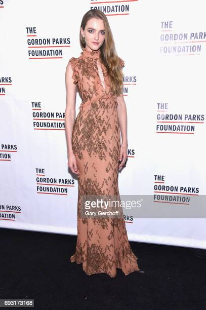 Model Vlada Roslyakova attends the 2017 Gordon Parks Foundation Awards gala at Cipriani 42nd Street on June 6 2017 in New York City