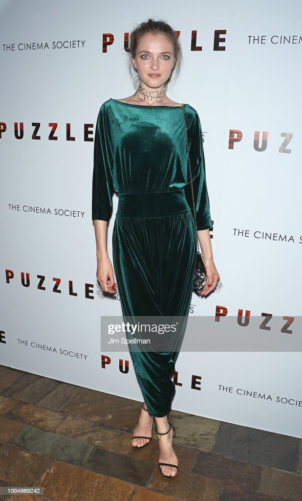 Sony Pictures Classics And The Cinema Society Host A Screening Of 'Puzzle' - Arrivals : News Photo