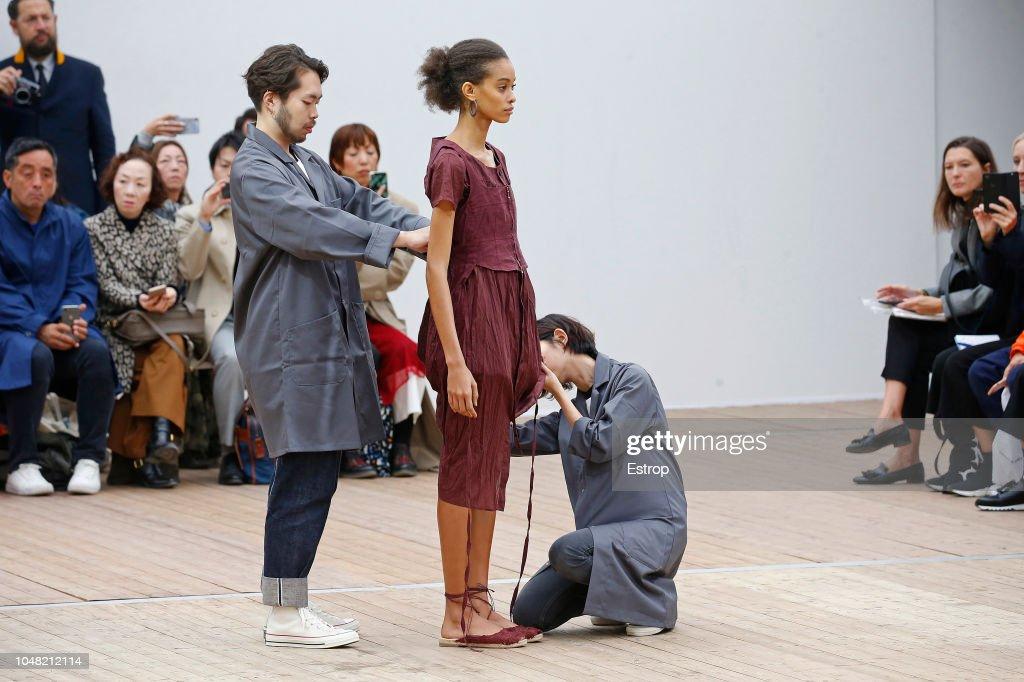 Beautiful People : Runway - Paris Fashion Week Womenswear Spring/Summer 2019 : ニュース写真