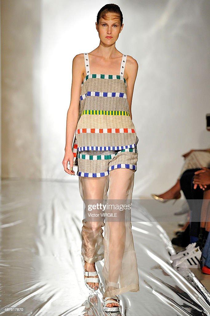 Daniel Silverstain - Runway - Spring 2016 New York Fashion Week : News Photo