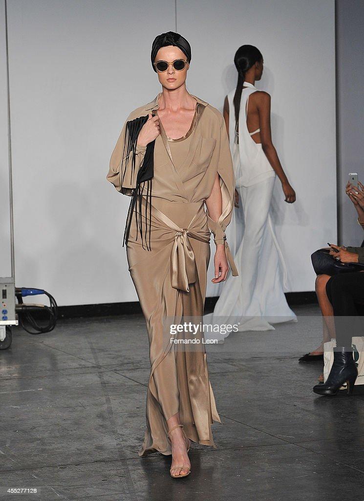 Juan Carlos Obando - Runway - Mercedes-Benz Fashion Week Spring 2015 : News Photo
