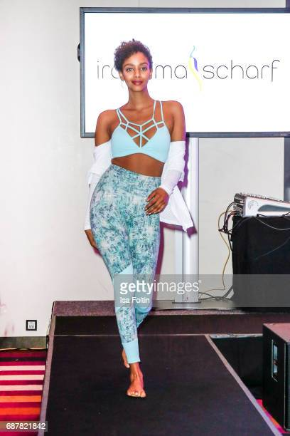 A model walks runway during the Kempinski Fashion Dinner on May 23 2017 in Munich Germany