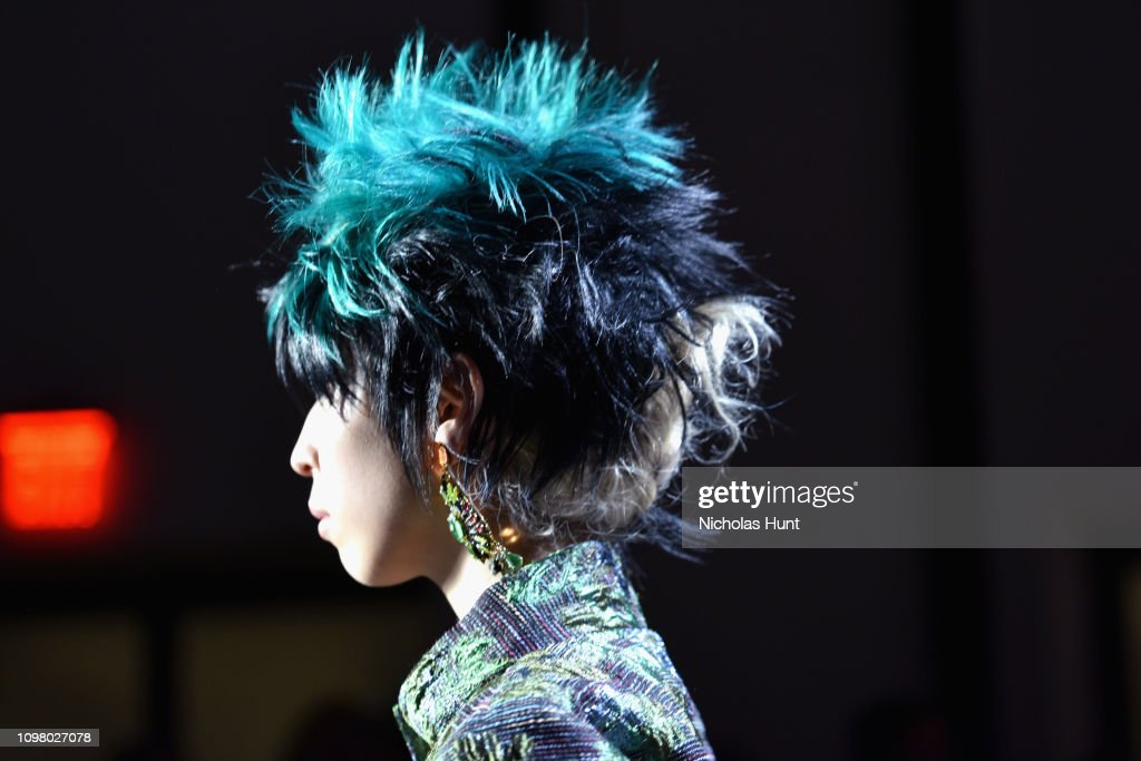 Anna Sui - Front Row - February 2019 - New York Fashion Week: The Shows : ニュース写真