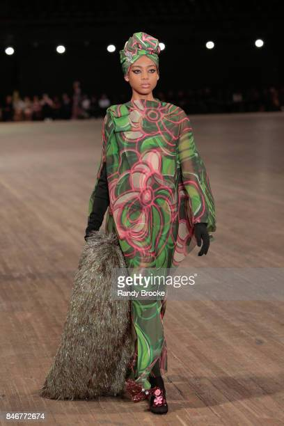 A model walks the Marc Jacobs Runway September 2017 New York Fashion Week The Shows on September 13 2017 in New York City