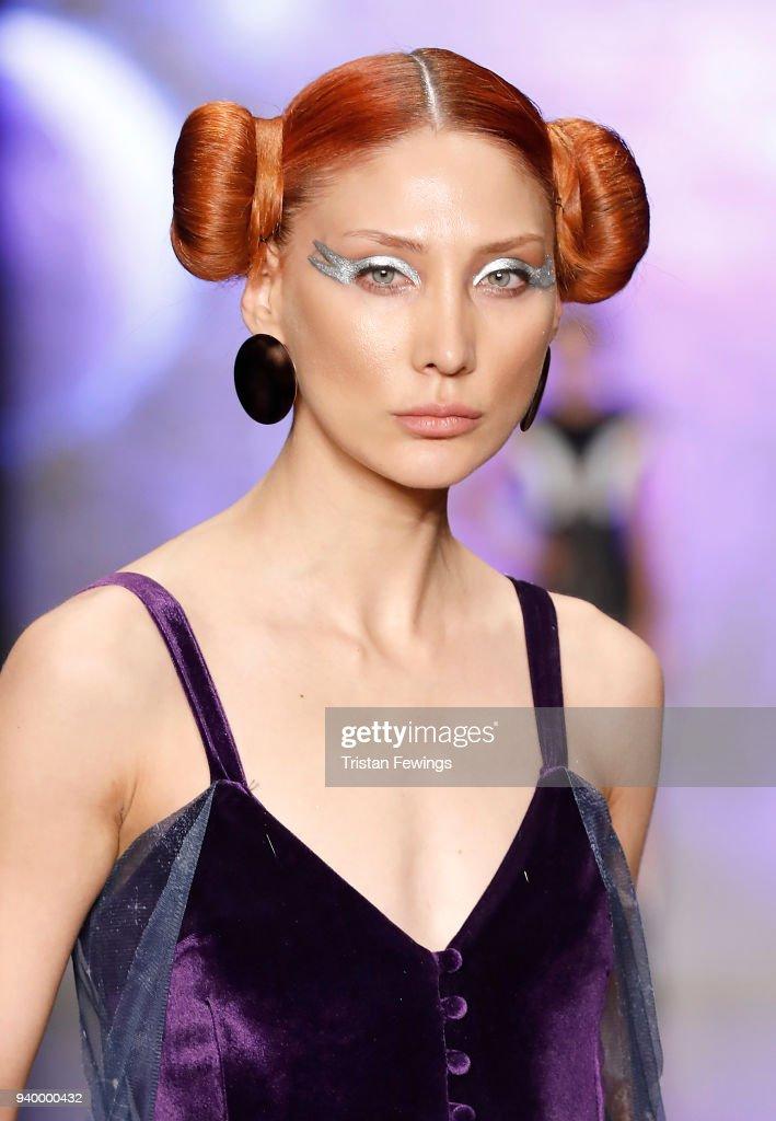 Mert Erkan - Runway - Mercedes Benz Fashion Week Istanbul - March 2018 : News Photo