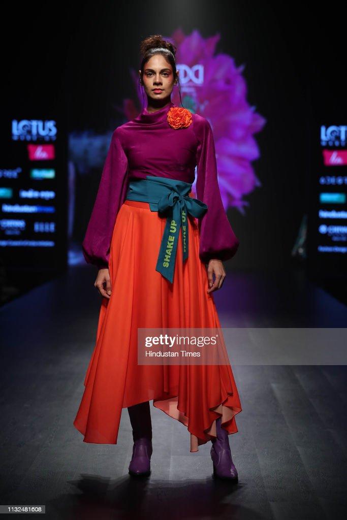 IND: Lotus Make-Up India Fashion Week Autumn Winter 2019