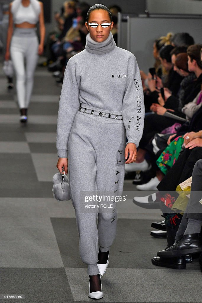Alexander Wang - Runway - February 2018 - New York Fashion Week : News Photo