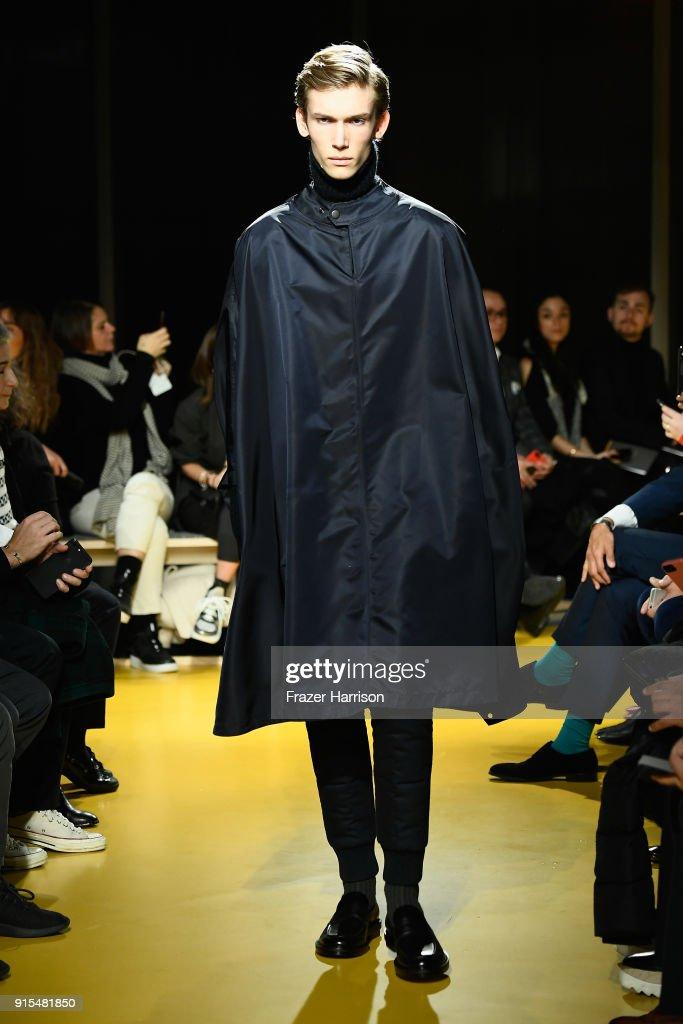 BOSS Menswear - Runway - February 2018 - New York Fashion Week Mens' : ニュース写真