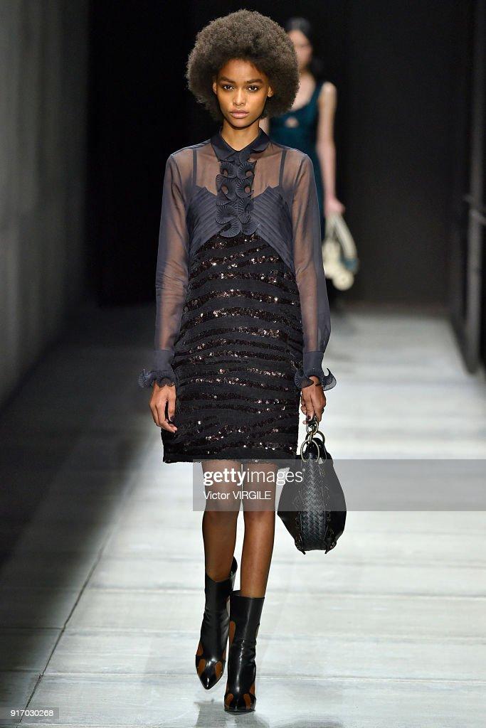 ba386e48543e Bottega Veneta - Runway - February 2018 - New York Fashion Week   News Photo