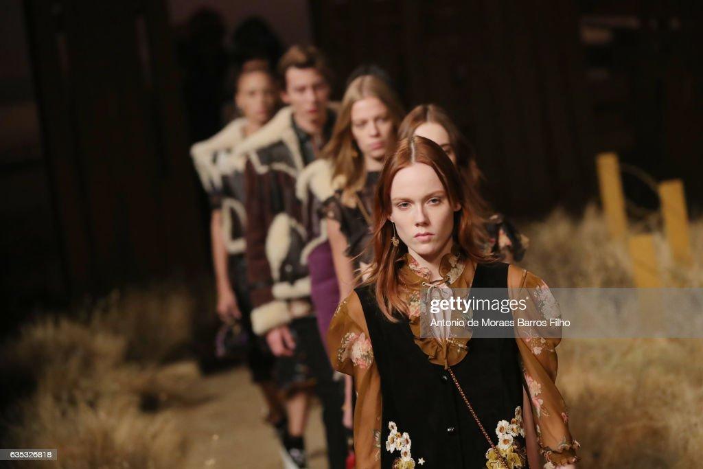 Coach - Presentation - February 2017 - New York Fashion Week : News Photo