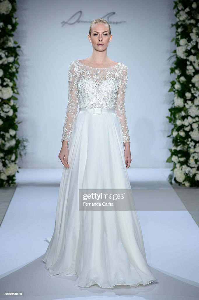 Fall 2015 Bridal Collection - Dennis Basso For Kleinfeld - Show ...
