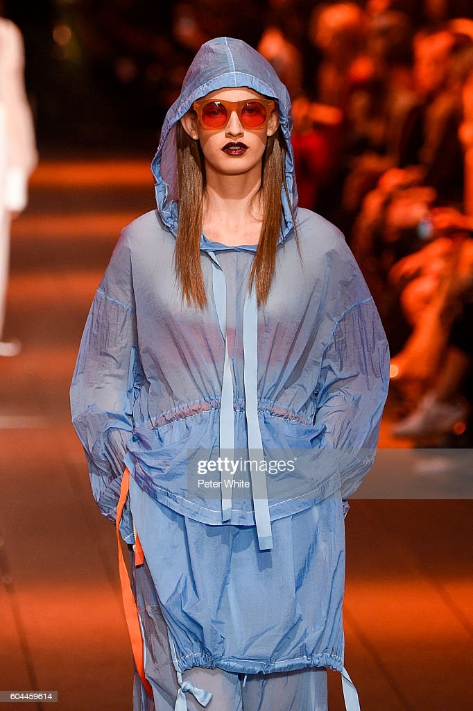 9b26210e9250 DKNY Women s - Runway - September 2016 - New York Fashion Week   News Photo