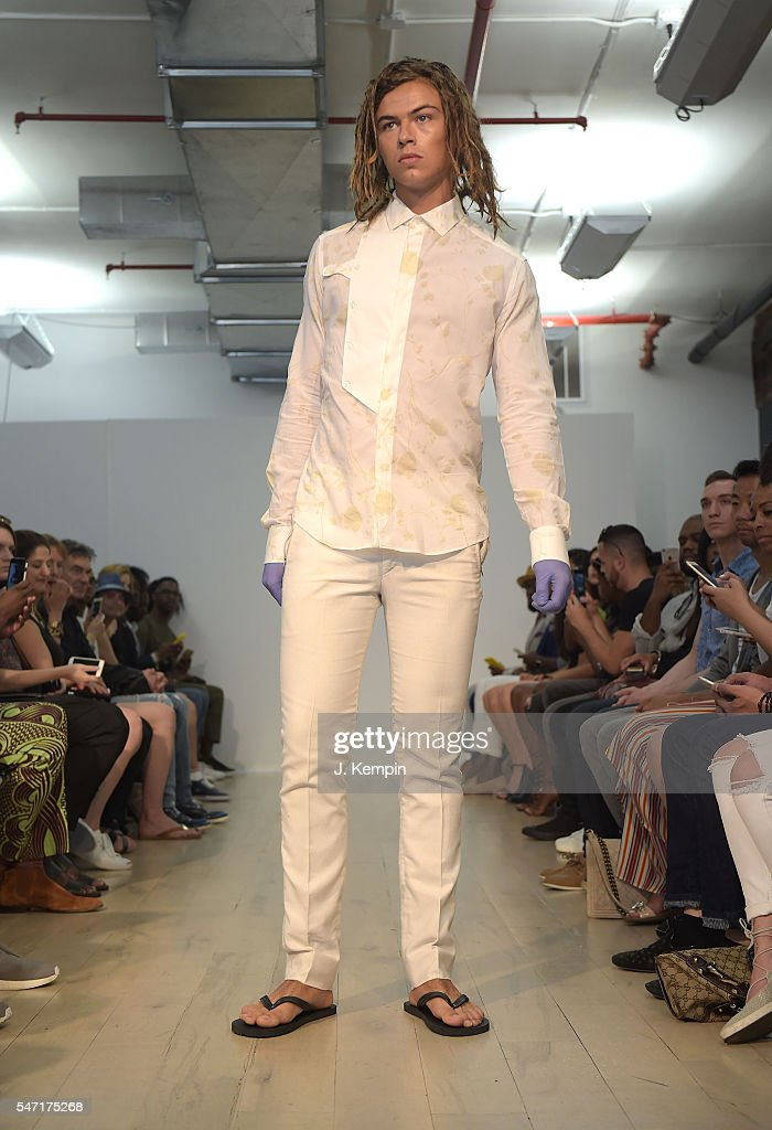 NY: Edwing D'Angelo - Runway - New York Fashion Week: Men's S/S 2017
