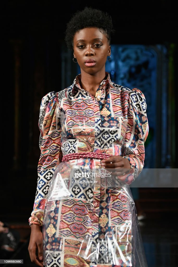 INIFD & LONDON SCHOOL OF TRENDS At New York Fashion Week Powered By Art Hearts Fashion NYFW : News Photo
