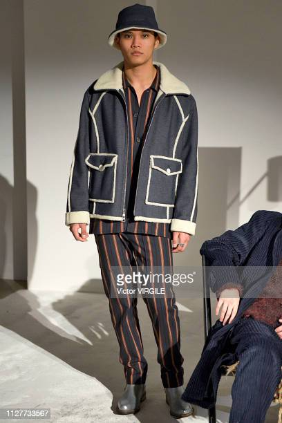 aaf32c81fc9 A model walks the runway at Krammer Stoudt Ready to Wear Fall Winter 2019  fashion